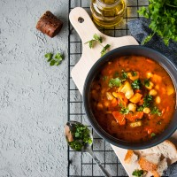 THAI CHICKPEA SOUP
